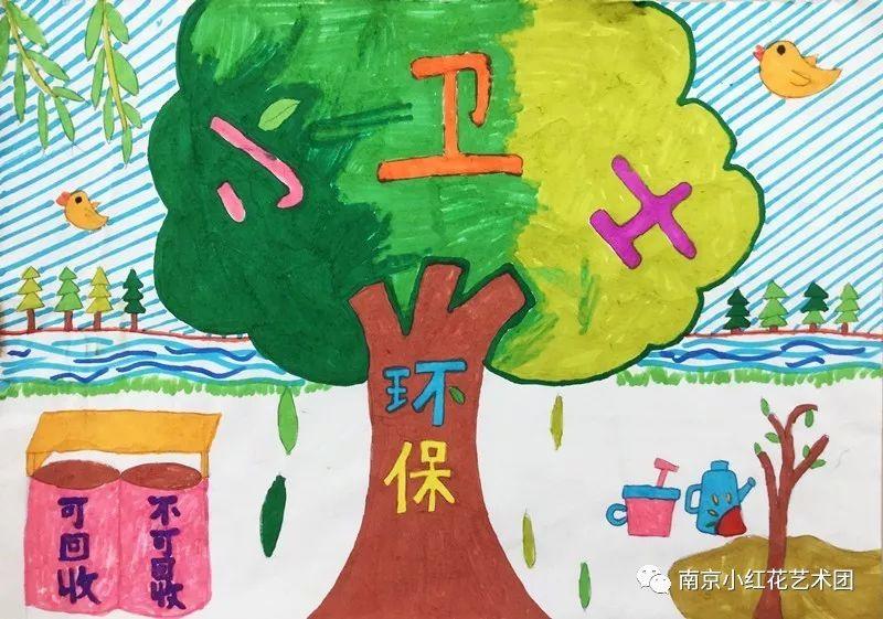 """""""童心向党""""系列活动二——小小画笔描绘美好生活"""